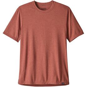 Patagonia Cap Cool Trail Shortsleeve Shirt Men red